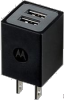 Motorola Dual Port Universal USB Travel Wall Charger