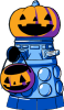 Trick or Exterminate woot! T-shirt (by Fablefire)