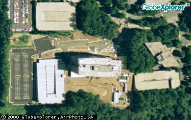 aerial view of my office building in Fairview Park (Falls Church, VA)